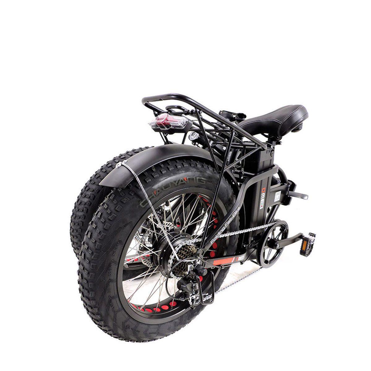 Bici Elettrica Fat Bike Vulcano V281 250w 36v Dme Elettrica Bikeit