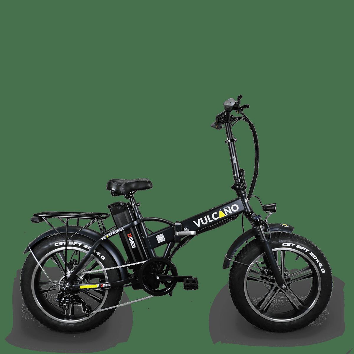 Bici Elettrica Fat Bike Vulcano Extreme V26 350w 48v Dme