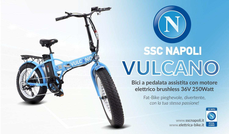 Sscn E Dme Presentano Vulcano La Fat Bike Dal Cuore Azzurro Dme