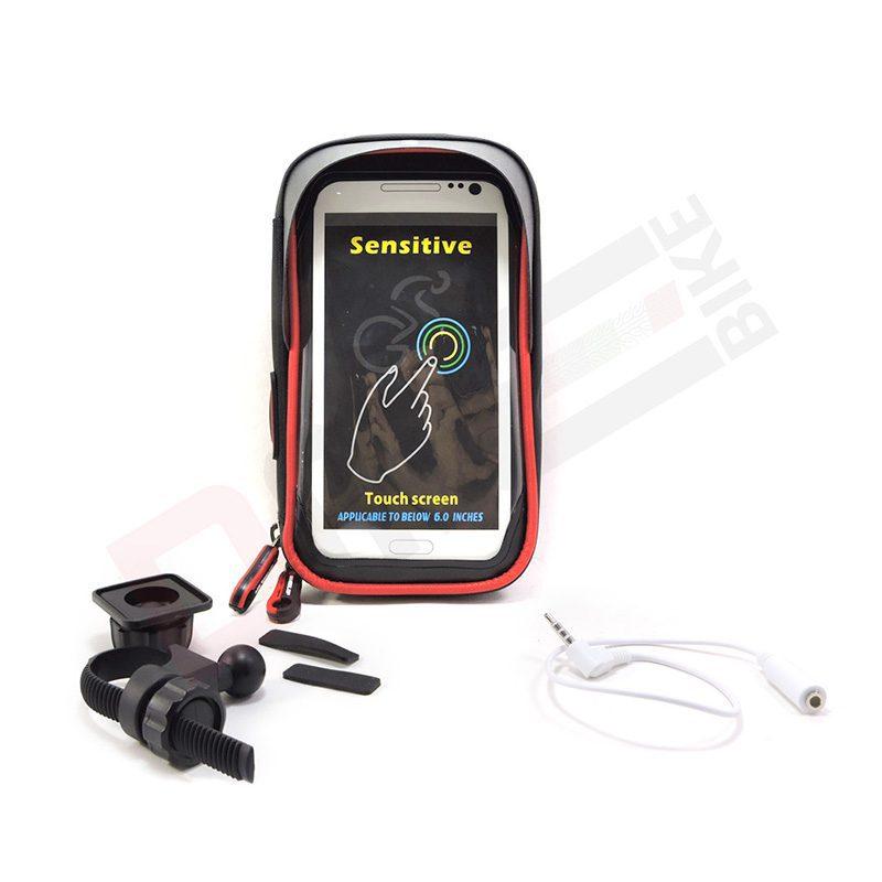 Porta cellulare da bici antipioggia