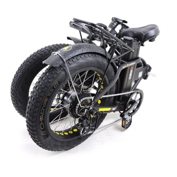Bici elettrica pieghevole Vulcano