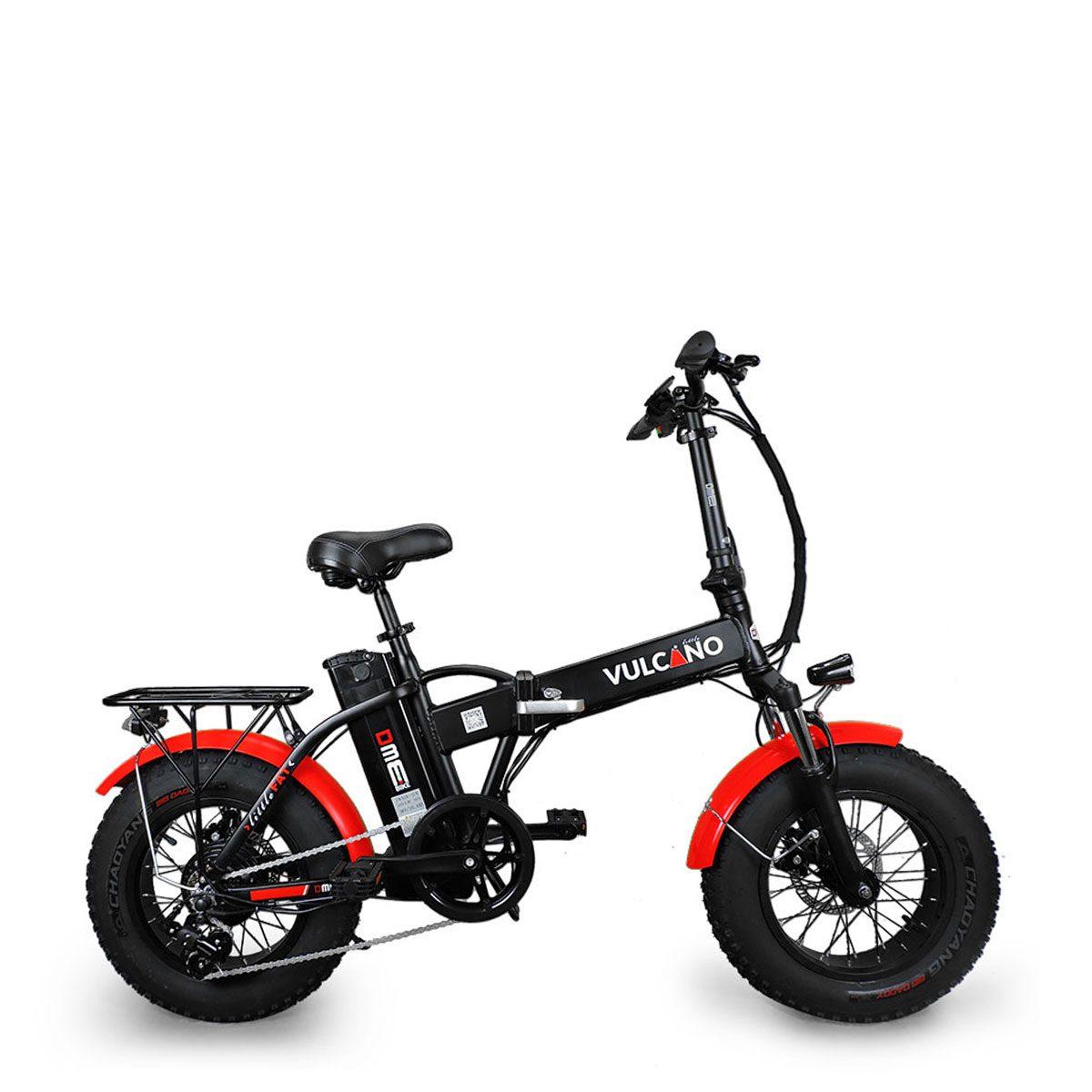 Bici Elettrica Fat Bike Vulcano Little V10 250w 48v Dme Elettrica