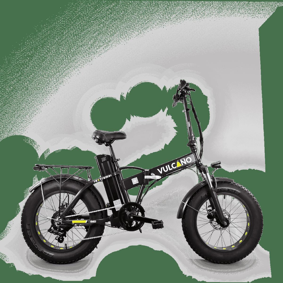 Bici Elettrica Fat Bike Vulcano Extreme V272 500w 48v Dme