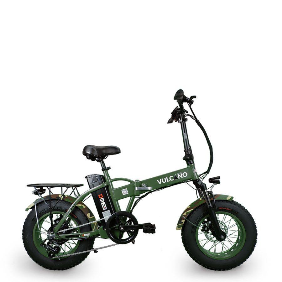 bici elettrica Dme Vulcano verde