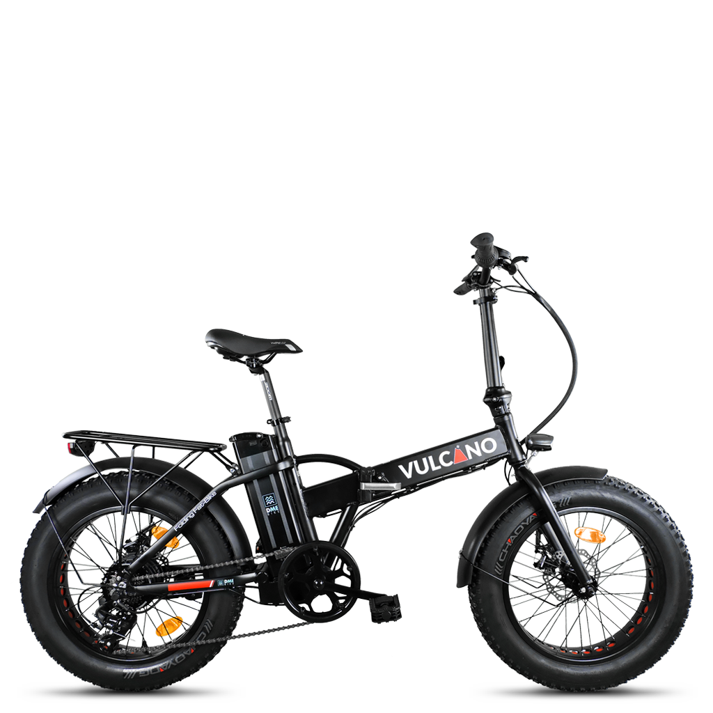fat bike elettrica Vulcano
