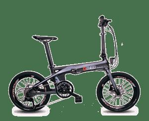 bici elettrica in fibra di carbonio