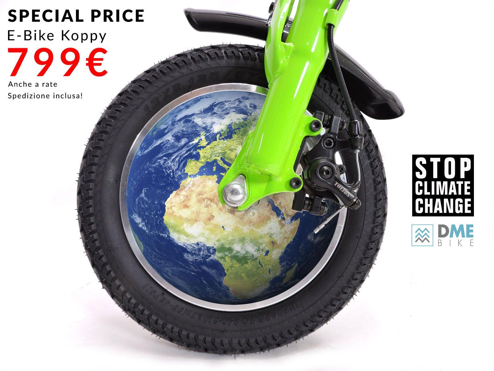 Koppy bici elettrica a metà prezzo