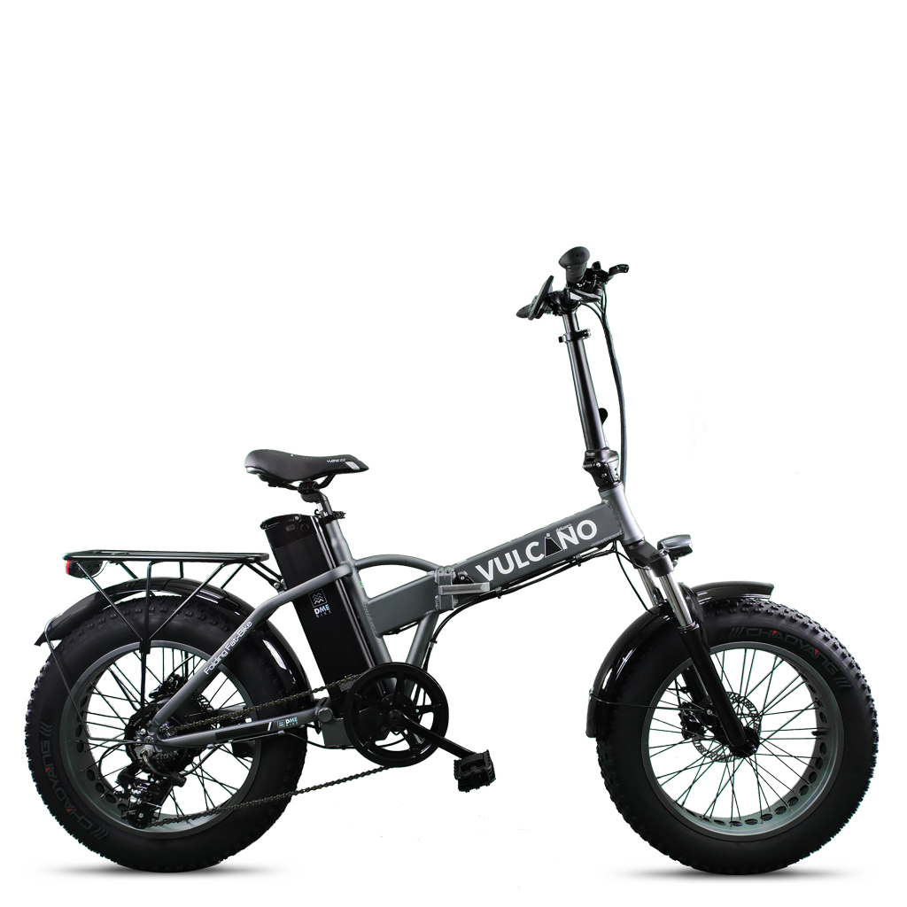 fat bike Vulcano forcella ammortizzata